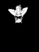 Bluzbluzka z siatki z naszytymi aplikacjami b. rękawa