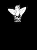 Bluzka marszczona z dekoltem w szpic