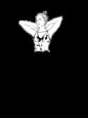 Bluzka z dekoltem w szpic wypełniony siatką