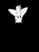 Bluzka z dekoltem w szpic z długim rękawem
