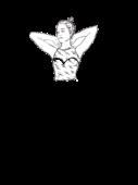 Gorset z koronkową bluzką b.rękawów